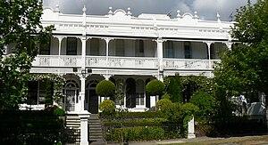 Toorak, Victoria - Victorian terrace housing (b. 1880s) in Williams Road