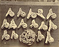 Royal Architectural Museum. Plaster Casts (Elbows of Stalls and Boss) from Salisbury Cathedral (3611561774).jpg