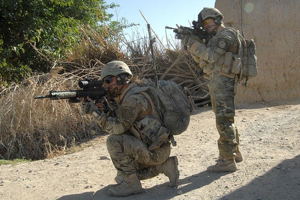 Royal Marines in Sangin MOD 45151554