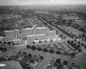 Royal Melbourne Hospital - Royal Melbourne Hospital in 1943