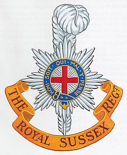 Royal Sussex Regiment British Army regiment