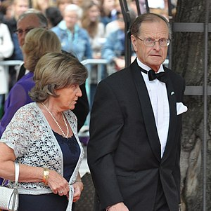 Ingemar Eliasson - Eliasson at the wedding of Crown Princess Victoria in June 2010