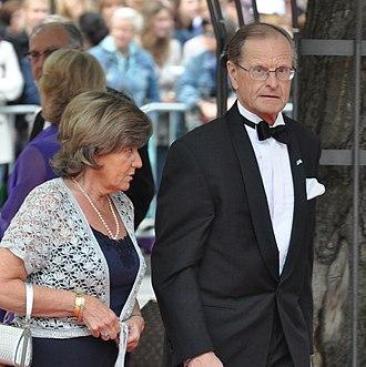 Ingemar Eliasson - Eliasson at the wedding of Crown Princess Victoria in June 2010