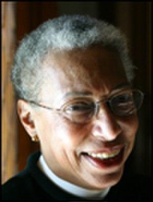 Barbara Harris (bishop) - Image: Rt rev barbara harris 102x 135