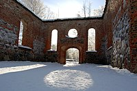 Ruins of St. Maria Church in Vaasa.JPG