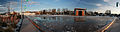 Russdionnedotcom-Kelowna Stuart Park skate rink in snow with broken ethelene glycol problem Panorama2.jpg