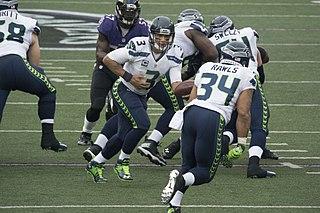 Thomas Rawls American football running back