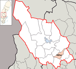 Säter Municipality in Dalarna County.png