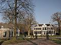 S-Graveland, Schaep en Burgh oranjerie naast landhuis RM526507.jpg