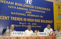 S. Jaipal Reddy and the Minister of State for Home Affairs, Shri Sriprakash Jaiswal at the inauguration of the 14th Annual Convention and National Seminar on Recent Trends in High Rise Buildings, in New Delhi on May 08, 2008.jpg