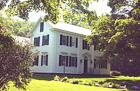 The Salmon P. Chase Birthplace in Cornish, New Hampshire SALMON P. CHASE BIRTHPLACE.jpg