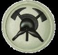 SANDF Qualification Fire Fighter badge embossed.png