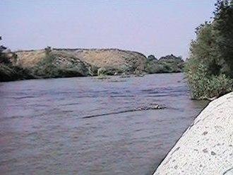 Santa Ana River - The Santa Ana River near Riverside