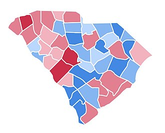 United States presidential election in South Carolina, 1996 - Image: SC1996