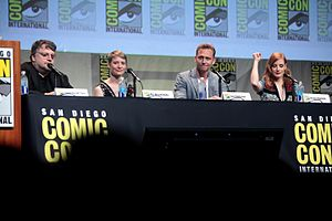 Crimson Peak - The cast and crew of Crimson Peak at the 2015 San Diego Comic-Con to promote the film.