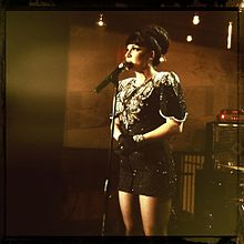 Shoshana Bean performing in Los Angeles, CA (June 2011)