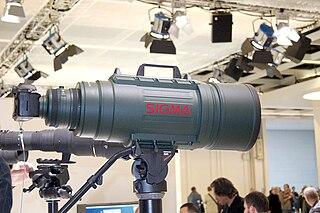 Sigma 200-500mm f/2.8 EX DG lens