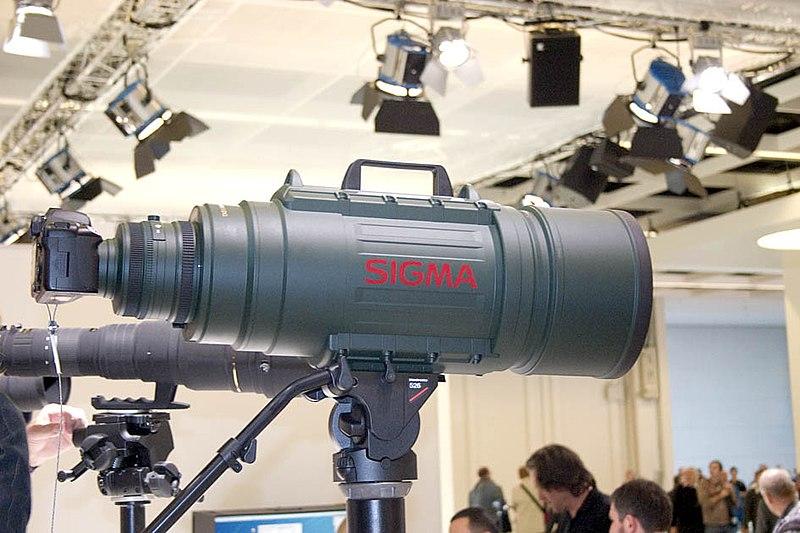 Sigzilla - Sigma 200-500mm f/2.8 EX DG