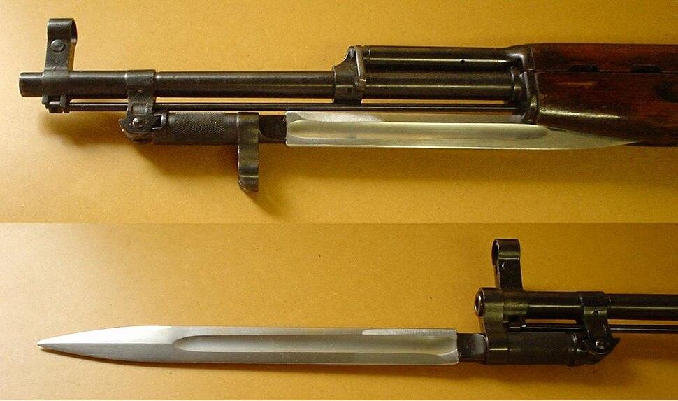 SKS bayonet
