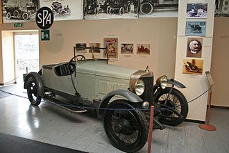 S.P.A. (automobile) - 1922 SPA 23S at Museo dell'Automobile