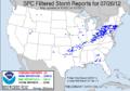 SPC Storm Reports 20120726.png