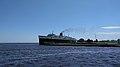 SS Badger leaving port in Wisconsin.jpg