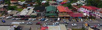 Trinidad and Tobago cuisine - Food stalls in Debe