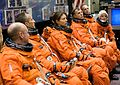 STS-118 Crew at a training session.jpg