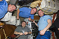 STS-134 ISS-28 Greg H. Johnson, Michael Fincke, Aleksandr Samokutyayev and Andrei Borisenko.jpg