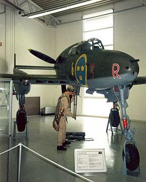 SAAB 21 - Saab A 21A-3