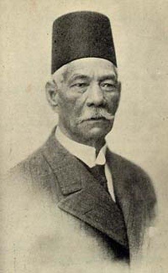 Egyptian revolution of 1919 - Saad Zaghlul Pasha