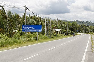 Putatan District - Image: Sabah Malaysia Lok Kawi Pengalat Road 01