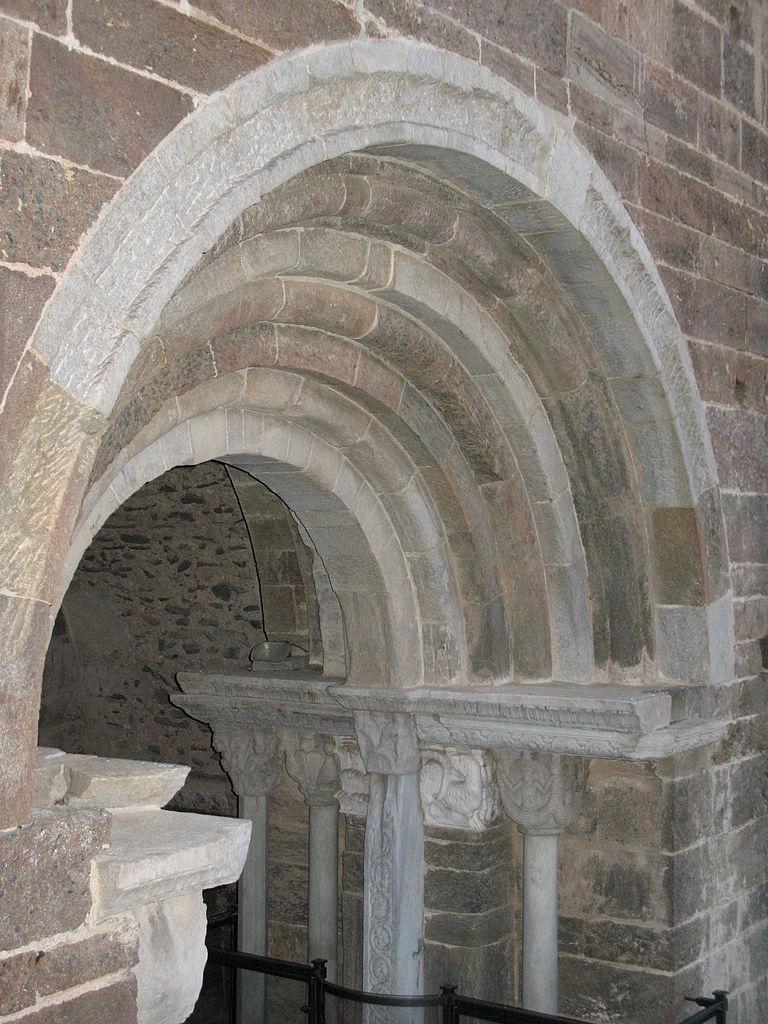 File sacra di san michele particolare porta dello - San michele a porta pia ...