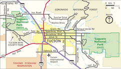 Saguaro National Park-situation map.png