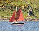 Sailing past Lion Rock Cumbrae (3603673292).jpg