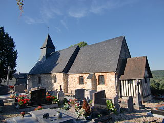 Saint-Sulpice-de-Grimbouville Commune in Normandy, France