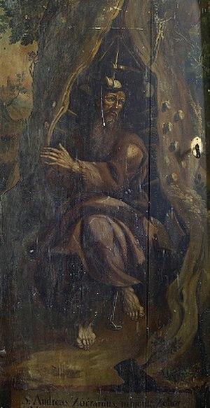 Andrew Zorard - Saint Svorad.