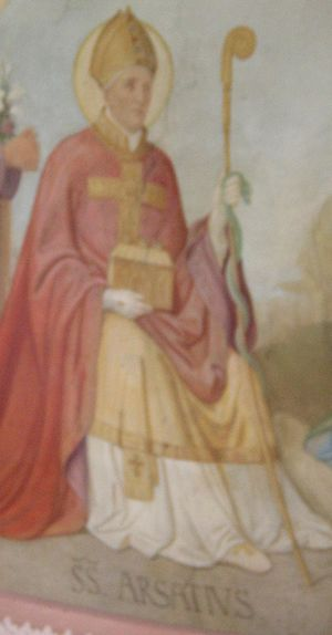 Arsatius - Image: Saint Arsatius