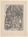 Saint Jerome in Penitence, in a Cave, from Holzschnitte alter Meister gedruckt von den Originalstöcken der Sammlung Derschau im besitz des Staatlichen Kupferstich-kabinetts zu Berlin MET DP833044.jpg