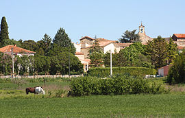 A general view of Saint-Hilaire-de-Brethmas