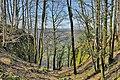 Sainte-Anne, fossé taillé dans le roc du vieux chateau.jpg