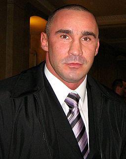 Przemysław Saleta Dutch kickboxer, boxer and mixed martial arts fighter