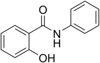 Image illustrative de l'article Salicylanilide