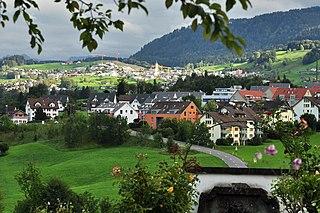 Former municipality of Switzerland in Zurich, Switzerland