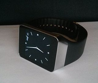 Samsung Gear Live Android Wear-based smartwatch