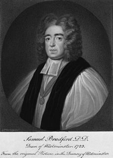 Samuel Bradford English bishop