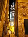 San Francesco, campanile, notturna (Andria).JPG