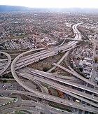 San Jose Freeway Interchange