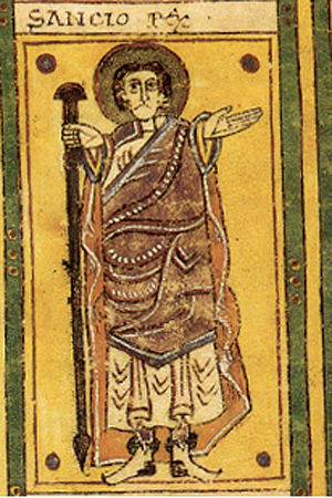 Sancho II of Pamplona - Sancho II of Pamplona, in the Codex Vigilanus