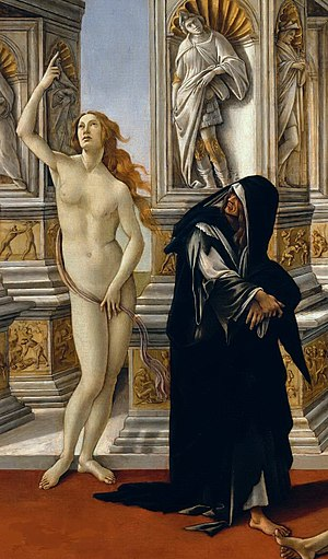 Calumny of Apelles (Botticelli) - Image: Sandro Botticelli 021 (cropped 1)